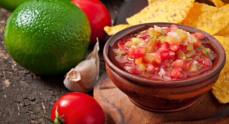 Orange and Tomato Salsa
